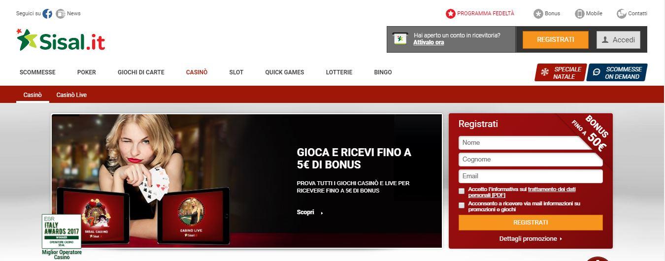 Le migliori piattaforme di casino online in italia for Progettista di piattaforme online